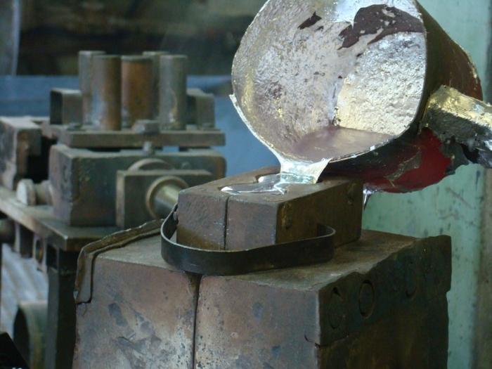 Фото, Изображение Литье под давлением и в металлических кокилях.