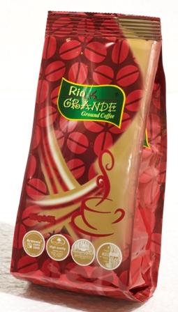 Купить Кофе натуральный жареный молотый Рио Гранде Квадро Черри 100г