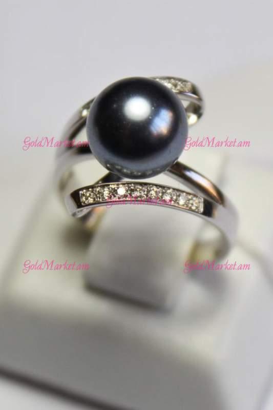 Купить Женское кольцо с жемчугом