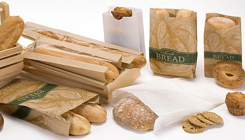 Купить Бумажные пакеты для упаковки хлеба