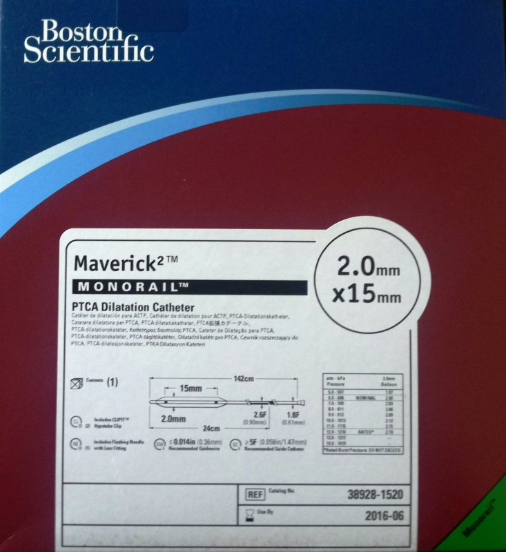 Купить Maverick® PTCA Balloon Catheters