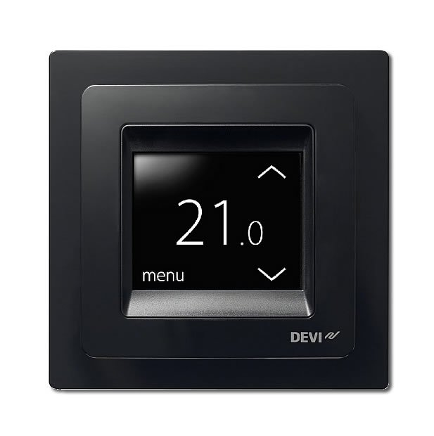 Купить Терморегулятор с сенсорным дисплеем - DEVIreg Touch