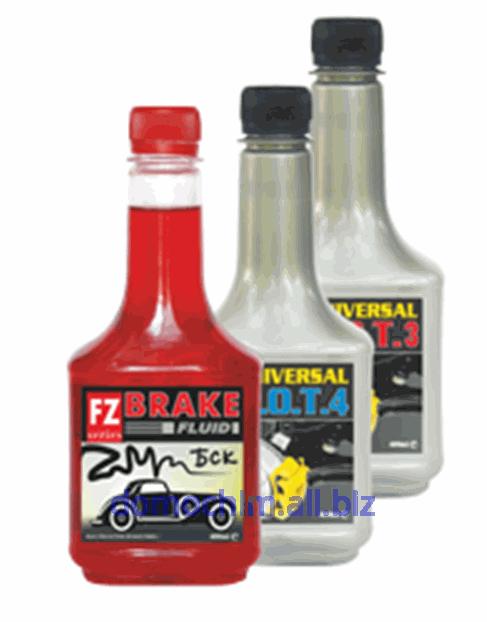 Купить Тормозная жидкость FZ SERIES для использования в гидравлической системе тормозов всех типов грузовых и легковых автомобилей. Совместима со всеми видами тормозных жидкостей