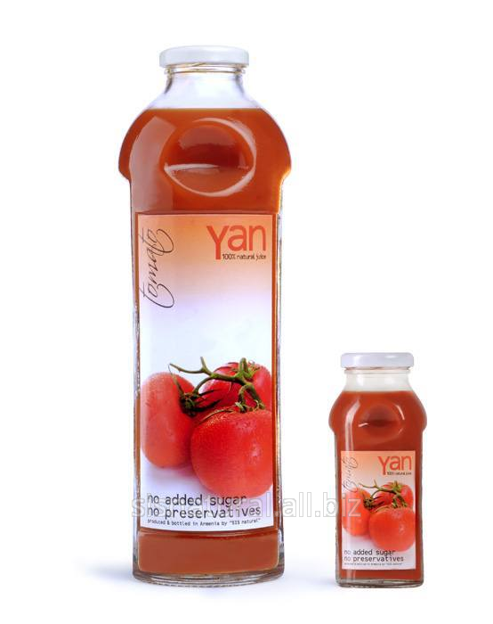 Купить YAN Томатный сок - Настоящий армянский сок tomato
