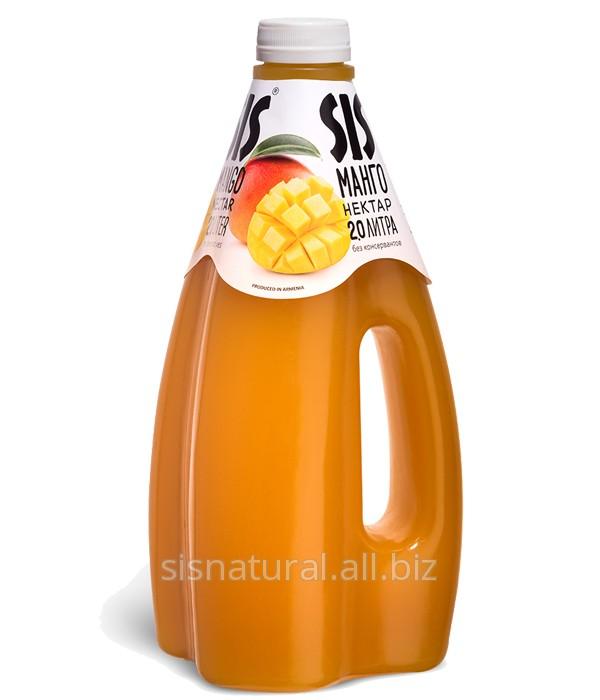 Купить SIS Манго, Объем - 2л, mango juice Настоящий армянский сок натуральный. Полезный. Великолепный. Много сока для большой компании