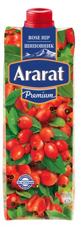 Купить Сокосодержащий напиток из шиповника неосветленный. Ararat Premium 0.97
