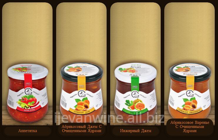 Buy Preservation: Appetitka, Apricot Jam With the Cleared Kernels, Fig Jam, Apricot Jam With the Cleared Kernels