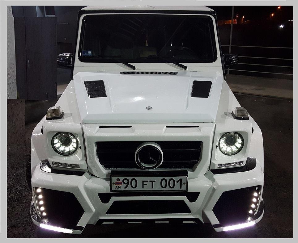 """Купить Облицовка для Mercedes G463 """"Wald"""" tuning"""