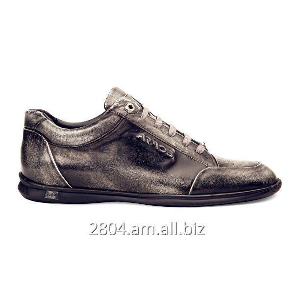 Купить Мужские ботинки вощёные чёрные кожаные