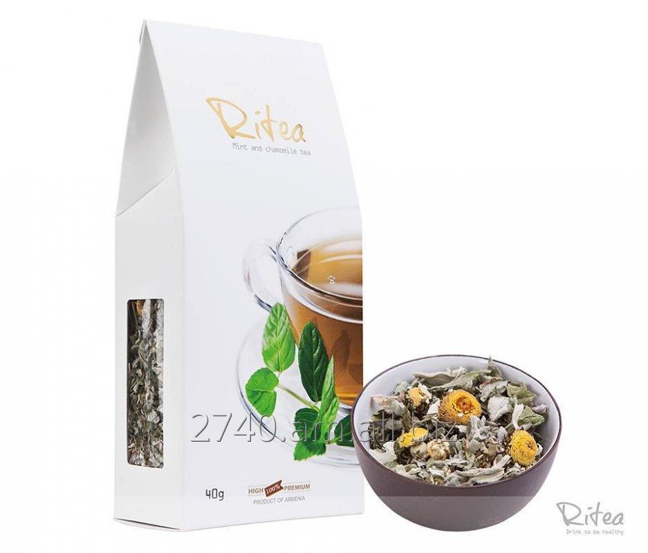 Купить  Чай С Мятой И Ромашкой (травяной чай)