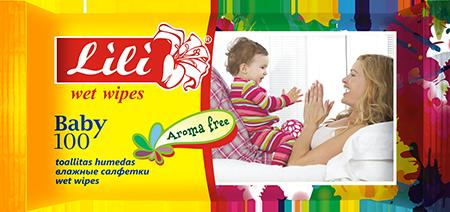 Купить Влажные салфетки для детей с экстрактом алоэ вера, календулы и витамином Е , и с экстрактом ромашки 100 шт