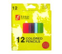 Цветные карандаши 12цв. ELITE
