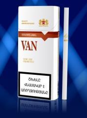 Сигареты с фильтром Ван Голдн Лейбл