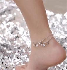 Ножные браслеты бижутерия