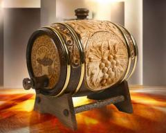 Cognac souvenir barrels