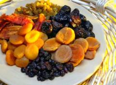 Dried fruits from Armenia