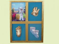 Слепки детских рук