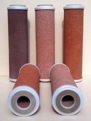 Картриджи для фильтров из природных минералов: туф, мрамор, цеолит, кварц, пемза, вулканический шлак