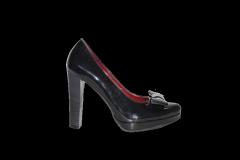 Туфли вусокая платформа каблук лакированный код 781