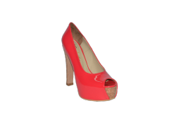 Shoes a high platform a heel from a stopper the