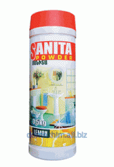 Powder SANITA with antibacterial effect for