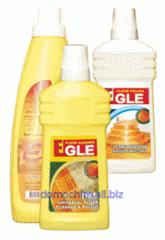 Чистящее средство для регулярного ухода, чистки и полировки полов