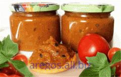 Аджапсандал - Овощные Консервации блюдо кавказской кухни