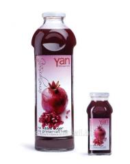 YAN гранат  - Настоящий армянский сок