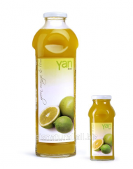 YAN апельсин + лимон - Настоящий армянский сок orange and lemon