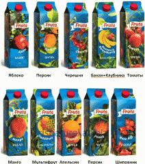 FRUTA, Volume - 1 l, the Real Armenian juice