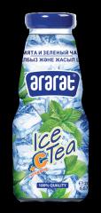 Холодный чай витаминизированный. Мята с чаем зеленым байховым.