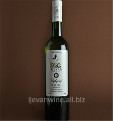 'White Ijevan' - dry table wine. Wine is