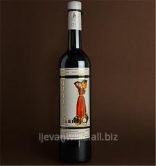 Вино `Гаяне` красное специальное полудесертное из виноградных сортов Кахети и Саперави.Кондиции: спирт 16% , сахар5-12%.