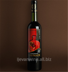 Garnet Semi-dessert wine from with pleasure -