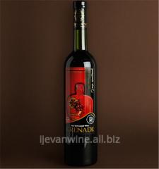 Вино `Гранатовое полудесертное` из сладко-вкусных гранатов растующих в юго-восточных зонах Армении.Кондиции; спирт-10-12%, сахар-8-12%.