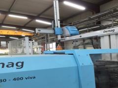 Машины для литья под давлением  DEMAG ERGOtech viva 80-400  termoplast