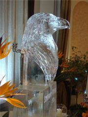 Скульптура ледовая Орёл