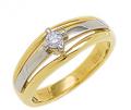 Кольцо золотое с бриллиантами