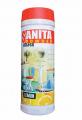 Порошок САНИТА с антибактериальным эффектом для основательной чистки и дезинфекции унитазов, раковин, ванн, сантехники, кухонных плит, кафеля