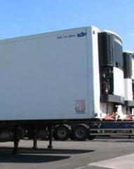Перевозка грузов в рефриджераторах