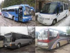 Предоставление транспорта в аренду