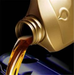 Replacement of oil in the engine