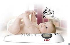 Прокат, аренда детских электронных весов для новорожденных