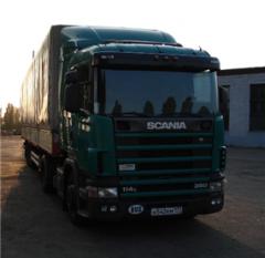 Международные автомобильные перевозки грузов по